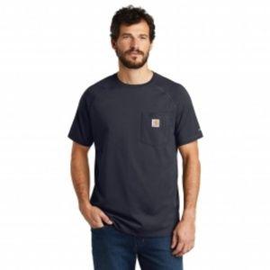 Carhartt Men's Force Delmont Short Sleet T Shirt